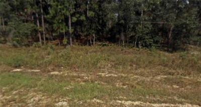 Levy County Residential Lots & Land For Sale: SE 131 Terrace