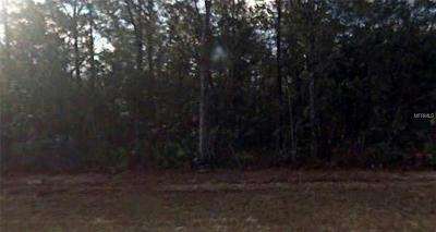 Levy County Residential Lots & Land For Sale: NW 83rd Terrace