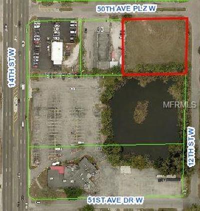 Manatee County Commercial For Sale: 1208 50th Avenue Plaza W