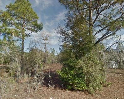 Levy County Residential Lots & Land For Sale: 1011 NE Boros Drive