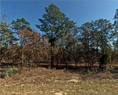 Levy County Residential Lots & Land For Sale: SE 136th Terrace