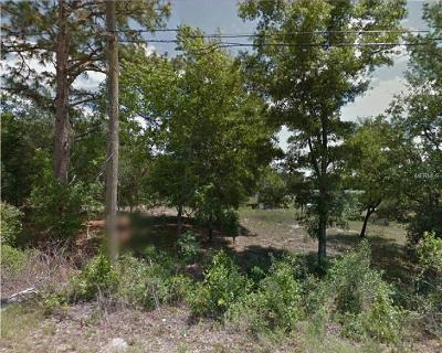 Inverness Residential Lots & Land For Sale: 511 Spruce Street