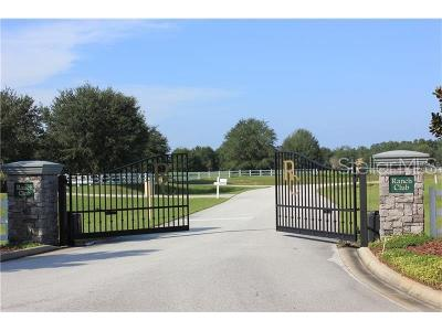 Groveland Residential Lots & Land For Sale: Lot 19 Eagle Run