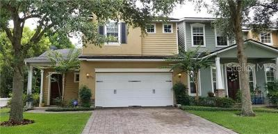 Winter Park Townhouse For Sale: 1392 Indiana Avenue