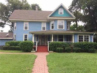 Deland  Single Family Home For Sale: 1229 W New York Avenue