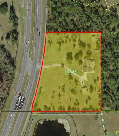 Kissimmee Residential Lots & Land For Sale: 3581 Pleasant Hill Road
