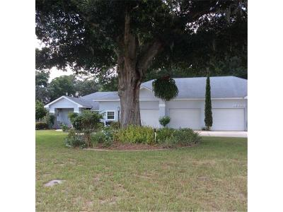 Eustis Single Family Home For Sale: 18301 State Road 44