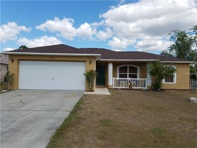 Kissimmee Single Family Home For Sale: 4121 Cannon Court
