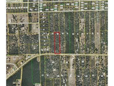 Levy County Residential Lots & Land For Sale: NE 75th Street