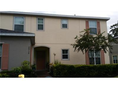 Kissimmee Townhouse For Sale: 2910 Tanzanite Terrace
