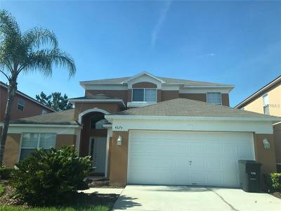 Kissimmee Single Family Home For Sale: 4675 Golden Beach Court