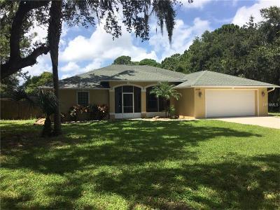 Edgewater Single Family Home For Sale: 2438 Swordfish Lane
