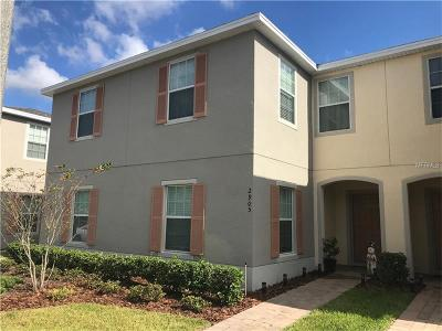 Kissimmee Townhouse For Sale: 2905 Sunstone Drive