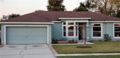 Saint Cloud Single Family Home For Sale: 700 Castillo Place