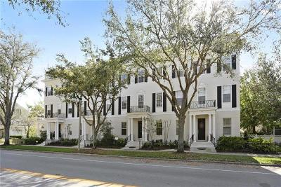 Celebration South Village Townhouse For Sale: 1144 Celebration Avenue