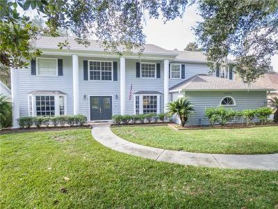 Lutz Single Family Home For Sale: 18010 Clear Lake Drive