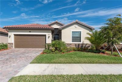 Venice Single Family Home For Sale: 12632 Richezza Drive