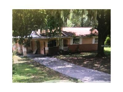 Leesburg FL Single Family Home For Sale: $75,900