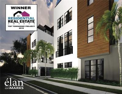 Orlando Townhouse For Sale: 114 E Marks Street #8