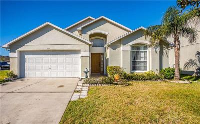 Celebration, Harmony, Kissimmee, Saint Cloud Single Family Home For Sale: 177 Thornbury Drive