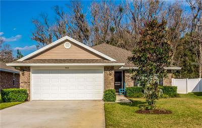 Edgewater Single Family Home For Sale: 566 Coral Trace Boulevard