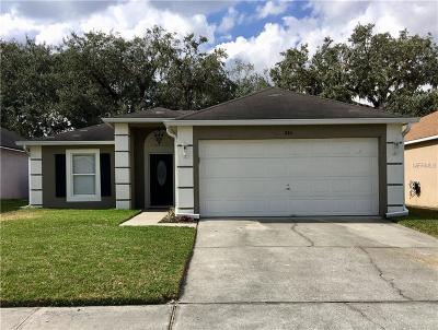 Lake Mary Single Family Home For Sale: 844 Brightview Drive