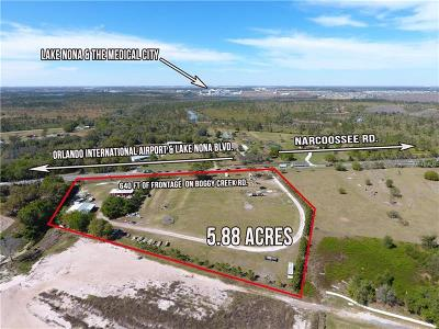 Kissimmee Residential Lots & Land For Sale: 4370 Boggy Creek Road