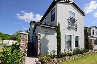 Haines City Townhouse For Sale: 105 Kenny Boulevard