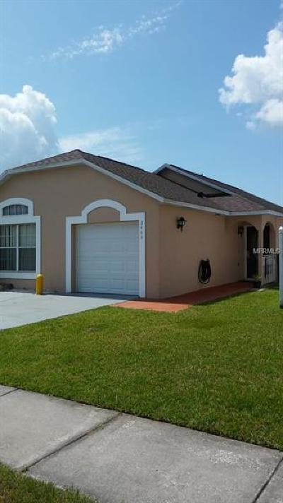 Kissimmee Single Family Home For Sale: 2443 Parsons Pond Circle