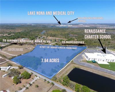 Kissimmee Residential Lots & Land For Sale: 4450 Boggy Creek Road