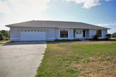 Saint Cloud Single Family Home For Sale: 3060 Cherokee Road