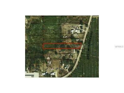 Polk City Residential Lots & Land For Sale: Orange Boulevard
