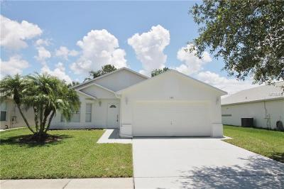 Kissimmee Single Family Home For Sale: 184 Harwood Circle