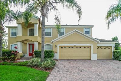 Ocoee Single Family Home For Sale: 2862 Cardassi Drive