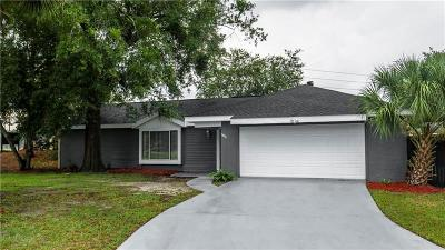 Casselberry Single Family Home For Sale: 3800 Sutters Mill Circle