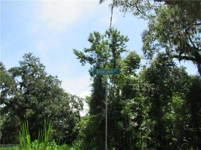 Seminole County Residential Lots & Land For Sale: Winona Drive