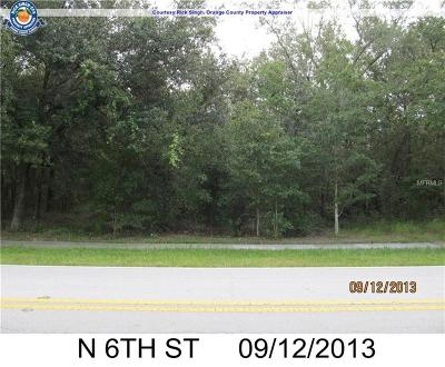 Orlando Residential Lots & Land For Sale: 1833 N 6th Street