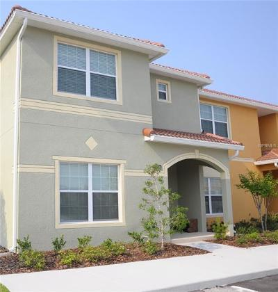 Kissimmee Townhouse For Sale: 8950 Cat Palm Road
