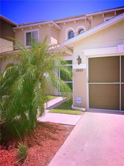 Kissimmee Townhouse For Sale: 2605 Aventurine Street