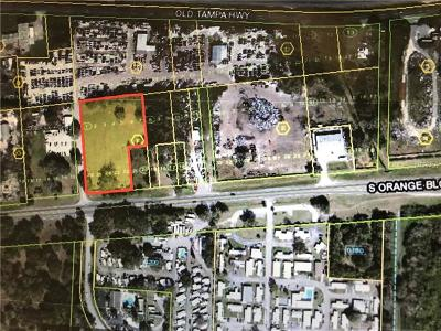 Kissimmee Residential Lots & Land For Sale: 4687 S Orange Blossom Trail
