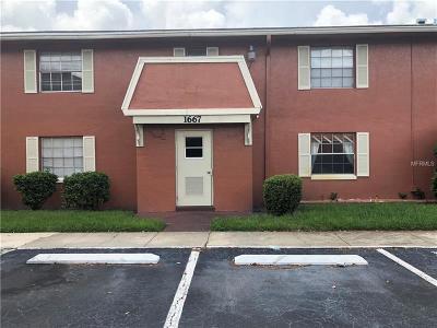 Orlando Condo For Sale: 1667 W Oak Ridge Road #1667B