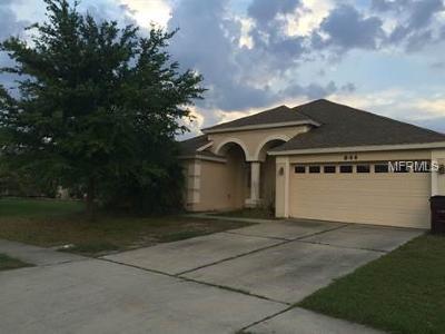 Saint Cloud FL Single Family Home For Sale: $259,900