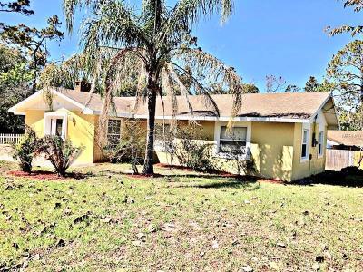 Debary Single Family Home For Sale: 116 Sunrise Boulevard