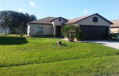 Kissimmee Single Family Home For Sale: 818 Blanc Court