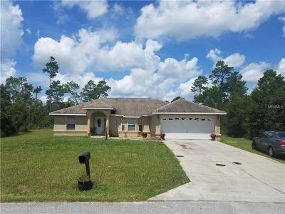 Single Family Home For Sale: 15434 SW 23rd Court Road