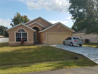 Single Family Home For Sale: 608 Linnet Court