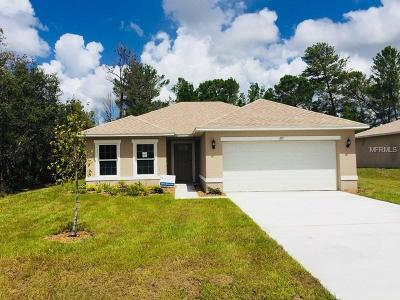 Lake County, Orange County, Osceola County, Polk County, Seminole County Single Family Home For Sale