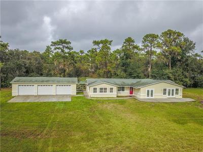 New Smyrna Beach Single Family Home For Sale: 4354 Lake Ashby Road