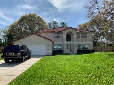 Orlando Single Family Home For Sale: 6581 Hidden Beach Circle