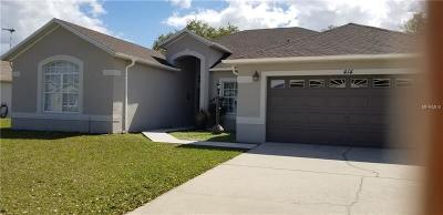 Kissimmee Single Family Home For Sale: 414 Tamarind Parke Lane